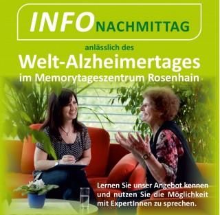 23.09.2014 Infonachmittag im Memory Tageszentrum Rosenhain