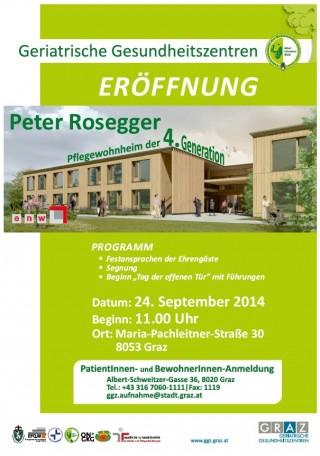 24.09.2014 Eröffnung Pflegewohnheim Peter Rosegger mit Tag der offenen Tür