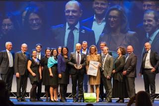EFQM Global Excellence Award 2017: Doppelte Auszeichnung für die GGZ - HERZLICHE GRATULATION!