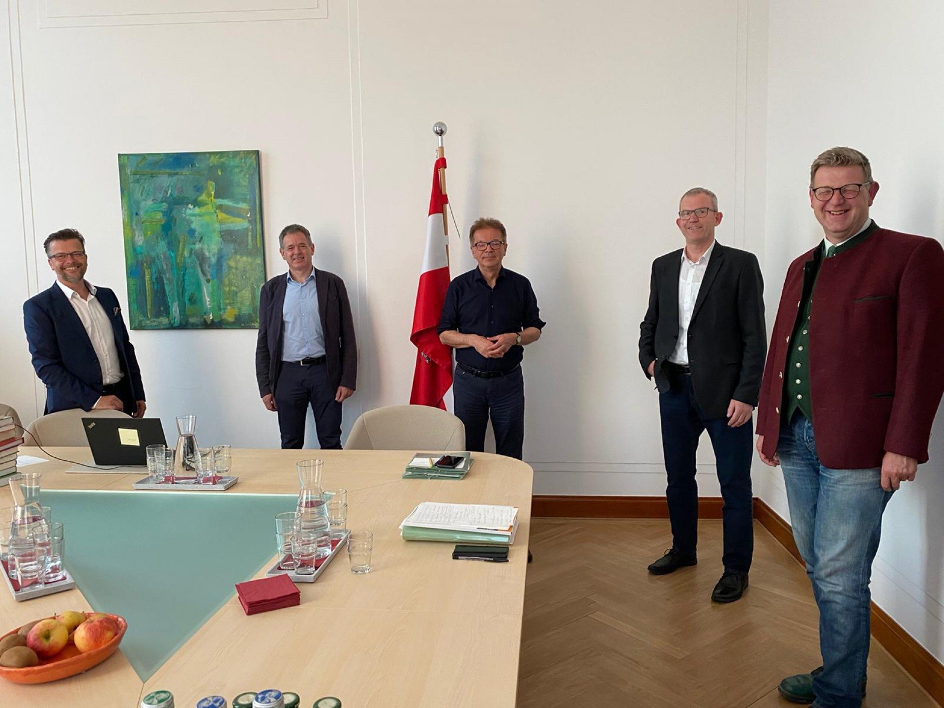 Treffen mit BM Rudolf Anschober
