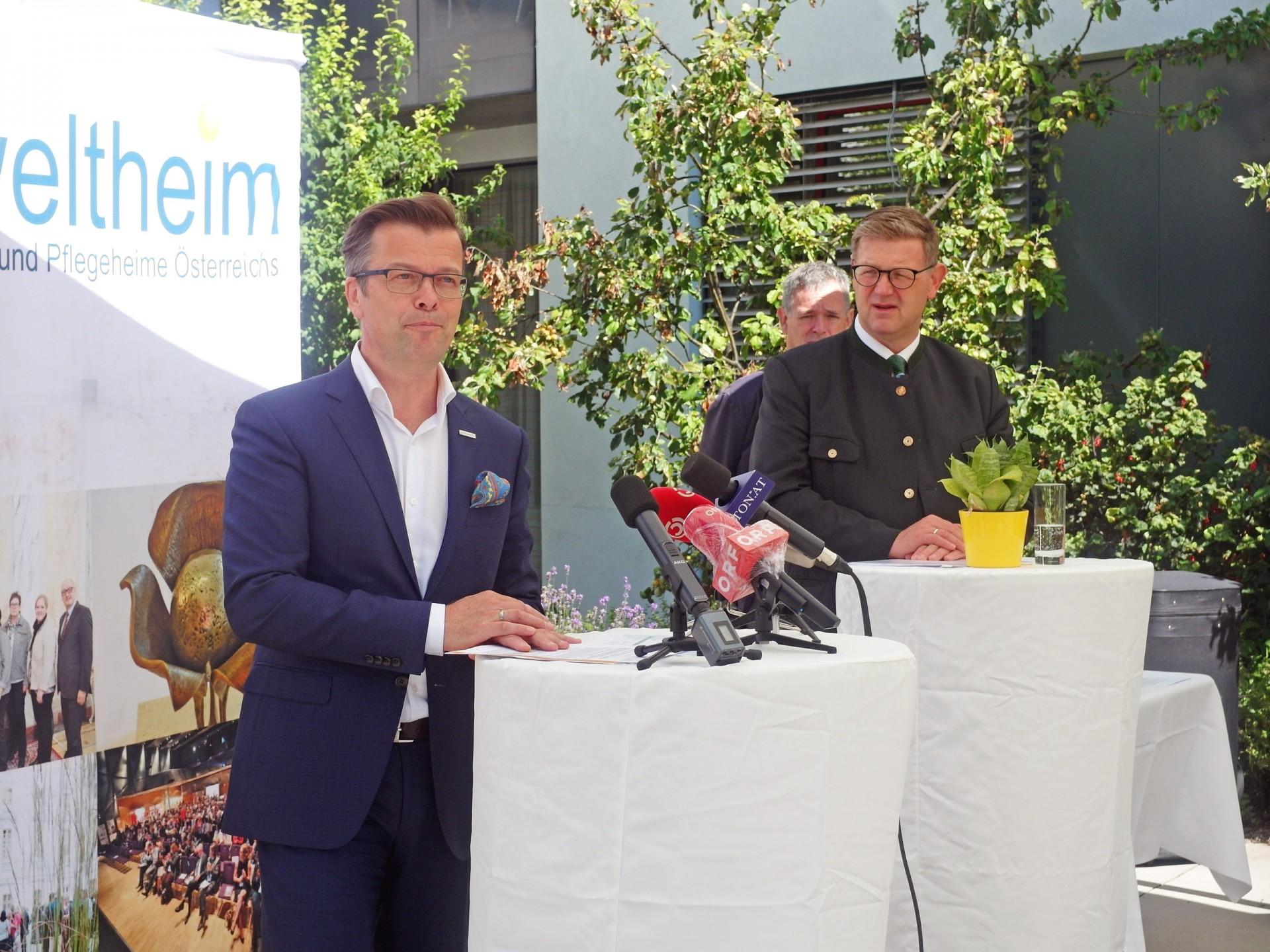 Pressekonferenz: Österreichs Alten- und Pflegeheime in der Corona-Krise – ein Zwischenbericht, Erkenntnisse und Forderungen an die Politik
